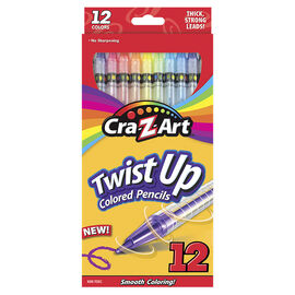 Cra-Z-Art Coloured Pencils - Twist - 12's
