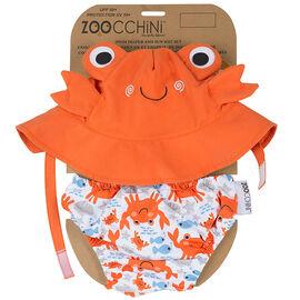 Zoocchini Diaper + Sun Hat Set