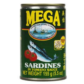 Mega Sardines in Tomato Sauce - 155g