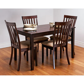 London Drugs Boey Dining Set - Espresso - 5 piece