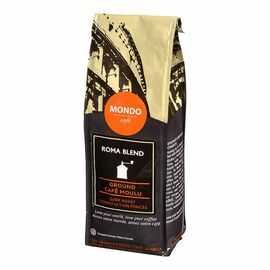 Mondo Cafe Roma Ground Coffee - Dark Roast - 454g