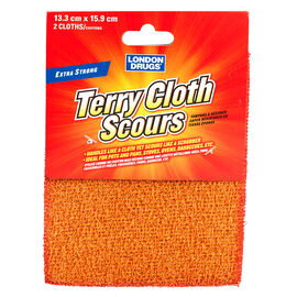 London Drugs Terry Cloth Scours - 2's