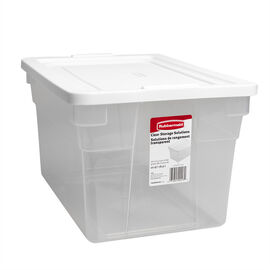 Rubbermaid See-through Storage Box - 18.9L