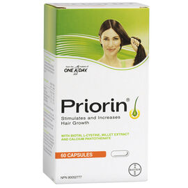 Priorin Hair Growth Capsules - 60's