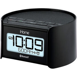 iHome Bluetooth Bedside Dual Alarm Clock Radio - IBT230BBC