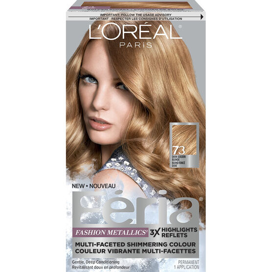 L Oreal Feria Fashion Metallics Permanent Hair Colour 73