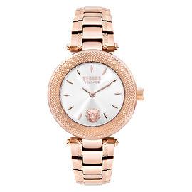 Versace Versus Brick Lane Ladies Watch - Silver/Rose Gold - S71060016