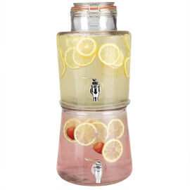 London Drugs 2 Tier Glass Dispenser - 5.4/5.1L