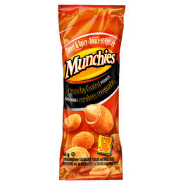 Munchies Crunchy Coated Peanuts - Sweet & Spicy - 55g
