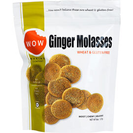 Wow Ginger Molasses Cookies - Gluten Free - 227g