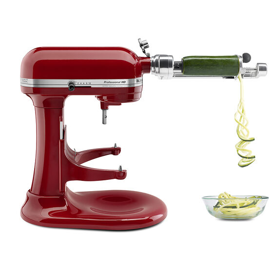 how to use a kitchenaid spiralizer