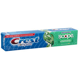 Crest Complete Toothpaste Whitening Plus Scope  - Minty Fresh - 130ml