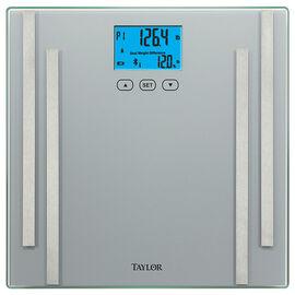 Taylor Smart Bath Scale - Silver - 722641033S