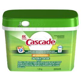 Cascade Power Pacs Dishwasher Detergent - Citrus - 60's