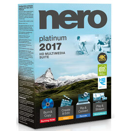 Nero Platinum 2017 HD Multimedia Suite - 8134794