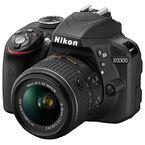 Nikon D3300 with 18-55mm VR II Lens - Black