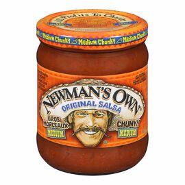 Newman's Own Salsa - Medium - 415ml