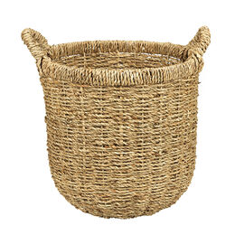 London Drugs Seagrass Round Basket with Handle