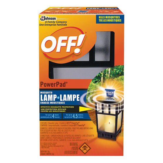 Off Powerpad Mosquito Lamp