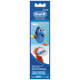 Oral-B Replacement Brush Heads Finding Dory - Extra Soft - 2's