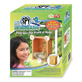My Spy Birdhouse - Brown