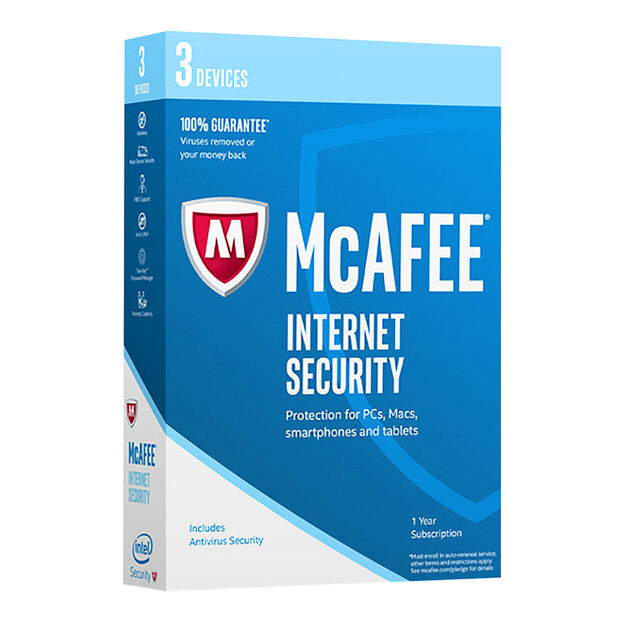 McAfee 2017 Internet Security - 3 Devices