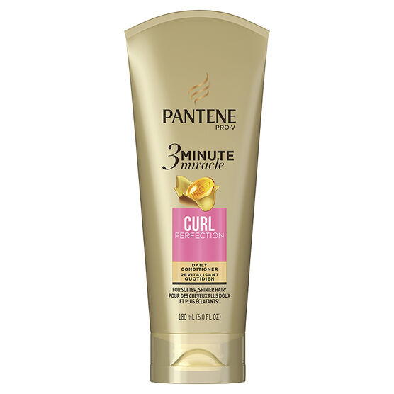 Pantene Pro-V 3 Minute Miracle Deep Conditioner - Curl Perfection - 180ml