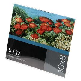 Pinnacle 10x8 H-Bent Photo Frame - Acrylic - 10x8in