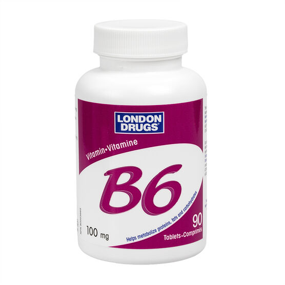 London Drugs Vitamin B6 - 100mg - 90's