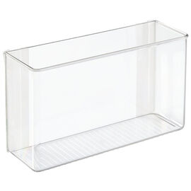 InterDesign AffixPaper Organizer - Clear - 3.5 x 11 x 6.5in