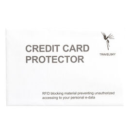 RFID Blocking Credit or I.D. Card Sleeve