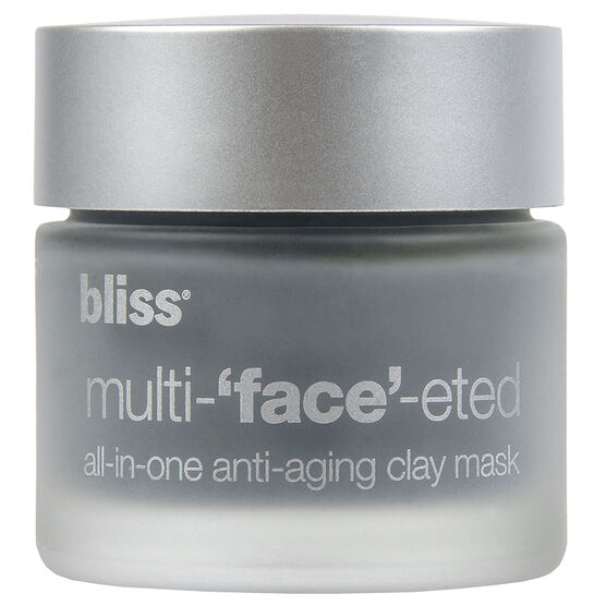 Bliss Multi-'Face'-eted All-In-One Anti-Aging Clay Mask - 65g
