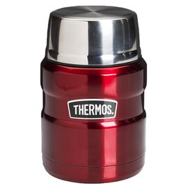Thermos Stainless Steel Vacuum Insulated Food Jar - 470ml - Cranberry