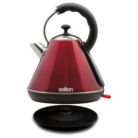 Salton Cordless Pyramid Kettle - Red - 1.8L