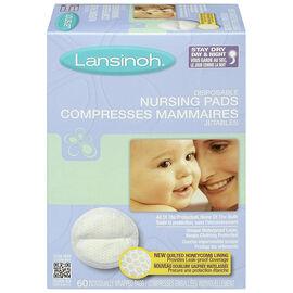 Lansinoh Disposable Nursing Pads - 60's
