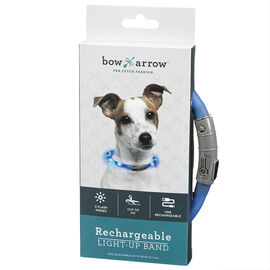 Bow Arrow Rechargeable Pet Collar