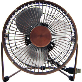 Logiix Retro Air USB Fan - Medium - Bronze - LGX-10550