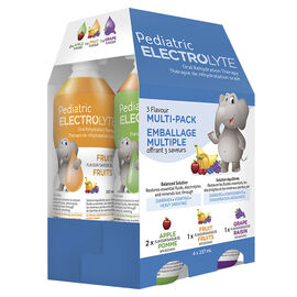 Pediatric Electrolyte Oral Rehydration Therapy - Multi-pack - 4 x 237ml