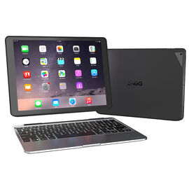 Zagg Slim Book Wireless Bluetooth Backlit iPad Keyboard - Black - iPad Pro 12.9 - Z-ID7ZF2-BB0