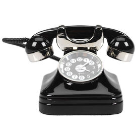 London Drugs Mini Clock - Telephone - 6 x 8 x 5cm