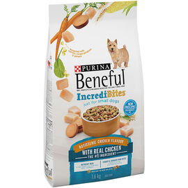 Purina Beneful IncrediBites for Small Dogs - Roasted Chicken - 1.6kg