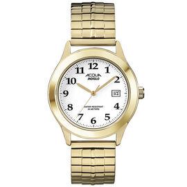 Timex Acqua Men's Quartz Analogue Watch - White/Gold - A3C47870