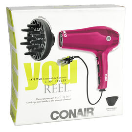 Conair Tourmaline Ceramic Dryer with Retractable Cord - 241C-2