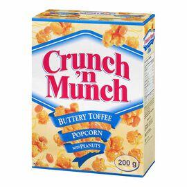 Crunch'N Munch Popcorn - Buttery - 200g