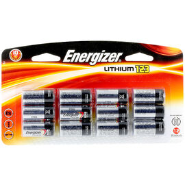 Energizer Lithium 3V Battery - 12 Pack - EL123BP12