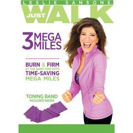 Leslie Sansone: 3 Mega Miles - DVD