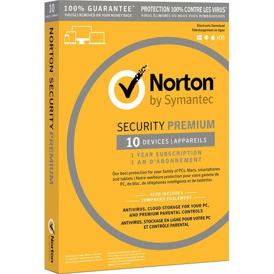 Norton Security Premium 3.0 - 10 Devices