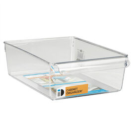 InterDesign Linus Pullz Cabinet Organizer - Extra Wide - Clear