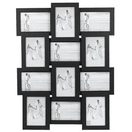 London Home Black Collage Frame - 12-4x6