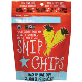 Wonderfully Raw Snip Chips - Cheezy Herb - 56g